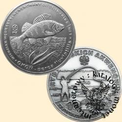 10 złotych rybek (mosiądz posrebrzany oksydowany) -  VII emisja / OKOŃ