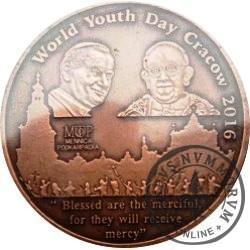 Medal / Światowe Dni Młodzieży - KRAKÓW 2016 (miedź Cu.999)
