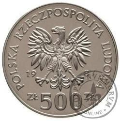 500 złotych - bramkarz-hokeista