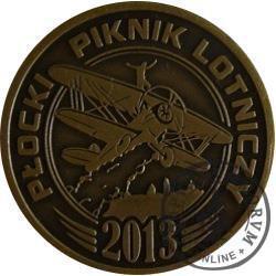 Płocki Piknik Lotniczy (mosiądz oksydowany)