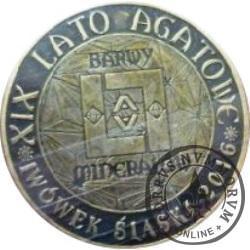 agatus 2016 / XIX Lwóweckie Lato Agatowe (mosiądz oksydowany - VIII emisja)