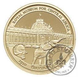 50 euro - 100 rocznica  lat Królewskiego Muzeum Afryki Centralnej