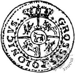 grosz  - bez monogramu