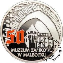 50 MUZEUM ZAMKOWE W MALBORKU (Murowane oczarowanie - Ag)