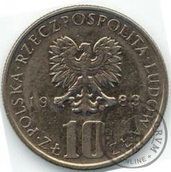 10 złotych - Prus