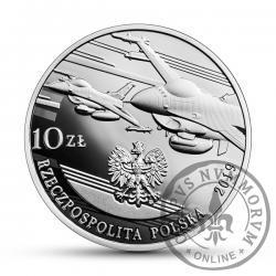 10 złotych - 100-lecie polskiego lotnictwa wojskowego