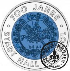 25 euro - 700 lat miasta Hall w Tyrolu
