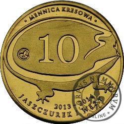 10 jaszczurek i węży / Żmija zygzakowata (VII emisja - mosiądz)
