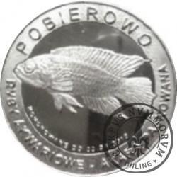 10 złotych rybek - Pomorze Zachodnie / Pobierowo ~ Akara paskowana (X emisja - alpaka)