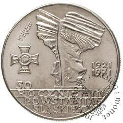 10 złotych - pomnik powstańców śląskich
