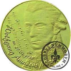 WODNIK - Wolfgang Amadeus Mozart (mosiądz)