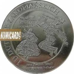 10 dutków zakopiańskich - Zawiązek Podhalan (I emisja - bimetal posrebrzany)