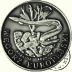 10 złotych rybek (alpaka oksydowana) - L emisja / WĘGORZ EUROPEJSKI