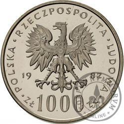 1000 złotych - Jan Paweł II st.l.
