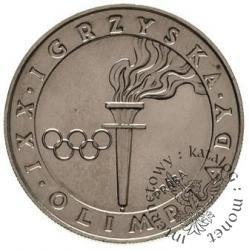 200 złotych - znicz olimpijski