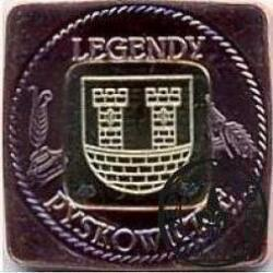 1 grosik pyskowicki - 2012 (bimetal II - miedź / mosiądz)