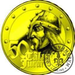 50 talarów Juranda (mosiądz pozłacany)
