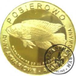 10 złotych rybek - Pomorze Zachodnie / Pobierowo ~ Akara paskowana (X emisja - mosiądz pozłacany)