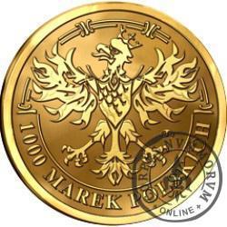 1000 marek polskich - Środek płatniczy Rzeczypospolitej Polskiej 1919-1939 (golden nordic)