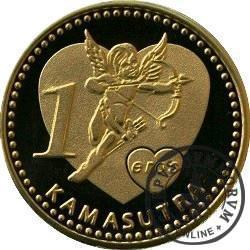 1 eros / Kamasutra - Dama rozkoszy (mosiądz)