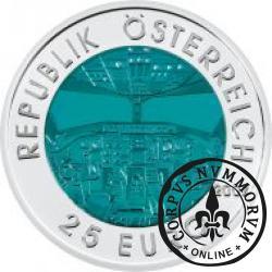 25 euro - Lotnictwo w Austrii