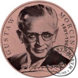 120 gustawów - 120. rocznica urodzin Gustawa Morcinka (miedź - Φ 38 mm)