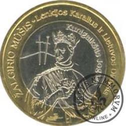 1 grunwald - Władysław II Jagiełło (bimetal)