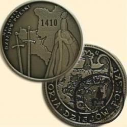 ROK 1410: BITWA POD GRUNWALDEM (III emisja - alpaka oksydowana)