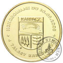 4 talary karkonoskie (I emisja - mosiądz) - Karpacz