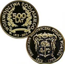 500 Lat Województwa Podlaskiego / Drohiczyn (mosiądz)
