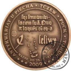 4 leliwy (mosiądz srebrzony oksydowany)