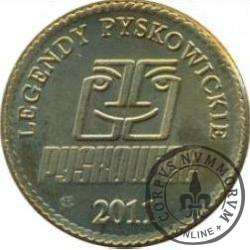 1 grosz pyskowicki - 2011 (mosiądz)