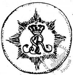 dukat - monogram, AUR, z orderem