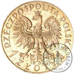 1 złoty - Polonia (głowa kobiety) Ag