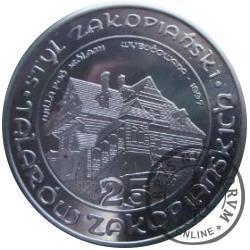 25 talarów zakopiańskich - Willa pod Jedlami (stal szlachetna)