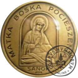 1 talar sanocki - Matka Boska Pocieszenia (X emisja - mosiądz oksydowany)
