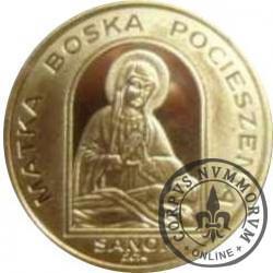 1 talar sanocki - Matka Boska Pocieszenia (X emisja - mosiądz)