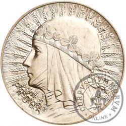 5 złotych - Polonia (głowa kobiety) - Ag, st. L