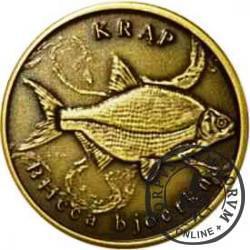 10 złotych rybek (mosiądz patynowany) - XXV emisja / KRĄP