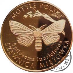 10 motylków / Szewnica miętówka (XII emisja - mosiądz patynowany)