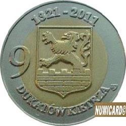 9 dukatów Kietrza (bimetal II)