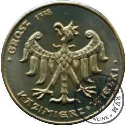 4 orły - Grosz 1338 / Kazimierz Wielki
