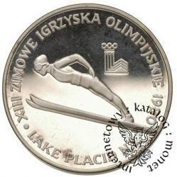 200 złotych - XIII igrzyska Lake Pacid 1980