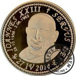 10 denarów - DENARIUS X (mosiądz - wersja krajowa) / Jan XXIII
