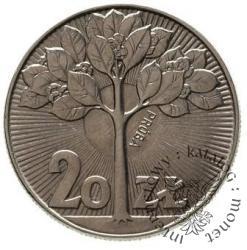 20 złotych - drzewko