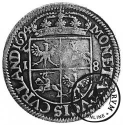 ort kurlandzki lenny - 1694
