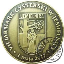 VII JARMARK CYSTERSKI W JAMIELNICY (mosiądz oksydowany)