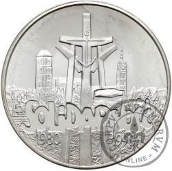 100 000 złotych - SOLIDARNOŚĆ duża, L, ZŁ daleko - typ A