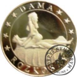 1 eros / Kamasutra - Dama rozkoszy (mosiądz pozłacany)