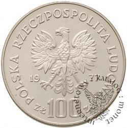 100 złotych - żubr